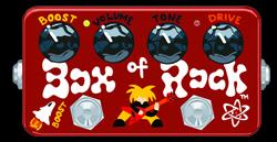 Woodstock # 165 - Z-vex Box Of Rock Handpainted