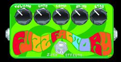 Woodstock # 161 - Z-vex Fuzz Factory Handpainted
