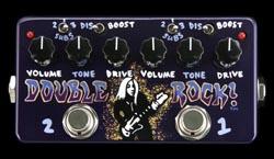 Woodstock # 641 - Z-vex Double Rock Handpainted