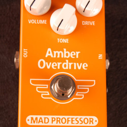 Mad Professor Amber Overdrive Hand Wired