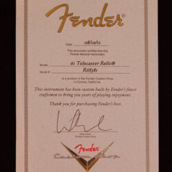 Fender Custom Shop '61 Relic Telecaster