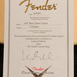 Fender 58 P-Bass Closet Classic